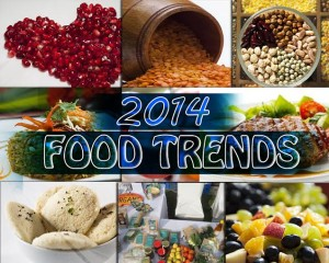 Find out what foods top the menus in 2014.
